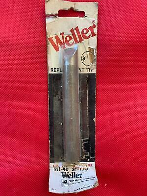One Genuine Weller Mt 40 Soldering Iron Tip Fits Sp-175