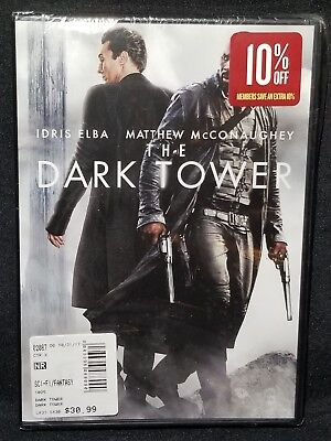 The Dark Tower  Dvd  2017  Matthew Mcconaughey  New   Region 1 As Seen In Photos