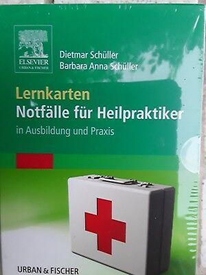 Lernkarten Notfälle für Heilpraktiker, Dietmar Schüller