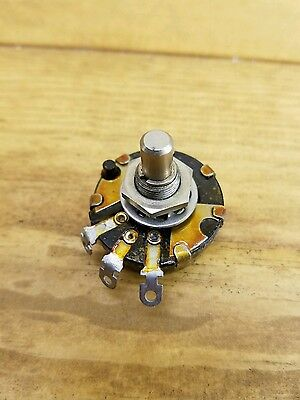 Vintage Potentiometer Frank Rieber.  Carbon Switch Audio Power Snap 1meg