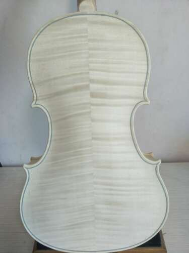 """15.5"""" viola unvarnished Ornati model solid flamed maple back spruce top A003"""