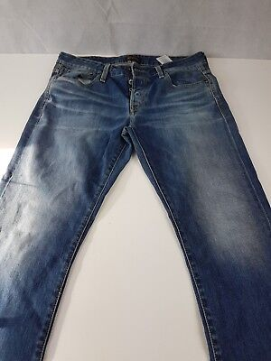 "Jack & Jones Mens Jeans Straight Leg Blue 34"" 32"" <C6> for sale  Ireland"