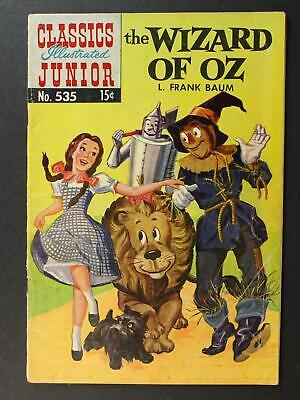 # 535 WIZARD OF OZ CLASSIC ILLUSTRATED JUNIOR COMIC (1st EDITION) ~