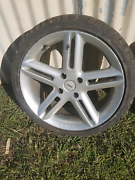 Single tyre with rim Rous Ballina Area Preview