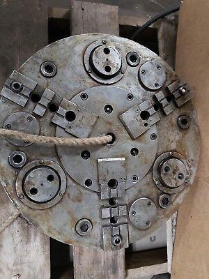 Cushman203 Jaw Chuck Hydraulic Power Chuck 20-74618-a11a Wbacking Plate Unused