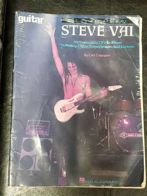 The Guitar Style Of Steve Vai Transcriptions & Lessons By Carl Culpepper School