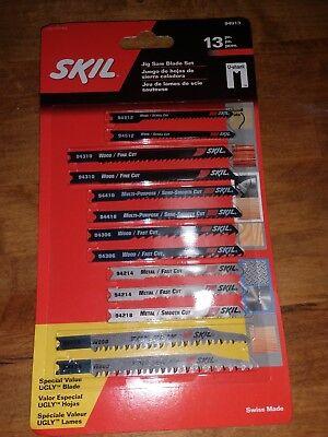 Skil 13-Pack U-Shank Jigsaw Blade (Steel Jigsaw Blade)