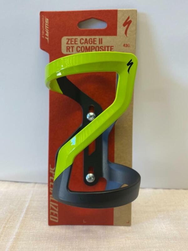 new Specialized ZEE CAGE II composite bicycle water bottle matte hyper RIGHT