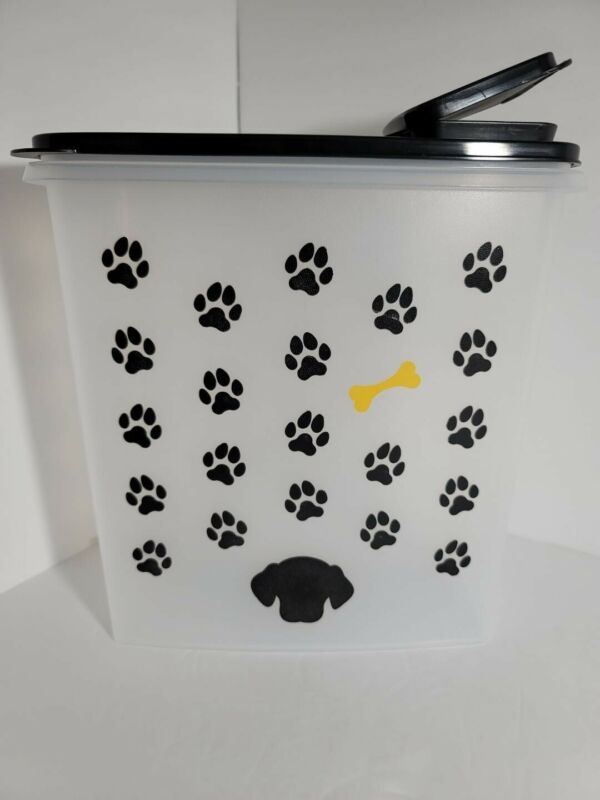 New TUPPERWARE Super Cereal Keeper DOG PET FOOD CONTAINER BPA-Free FREE US SHIP