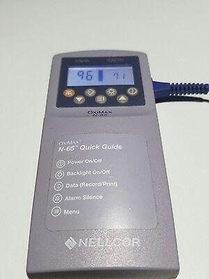 Nellcor Oximax N-65 Pulse Oximeter