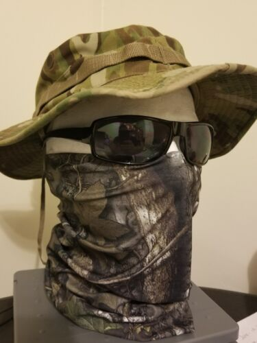 Mossy oak face mask tactical military army Camo Camouflage H