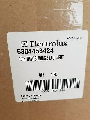 5304458424 Frigidaire Electrolux Commercial Laundry Washer Coin Slide Tray NEW