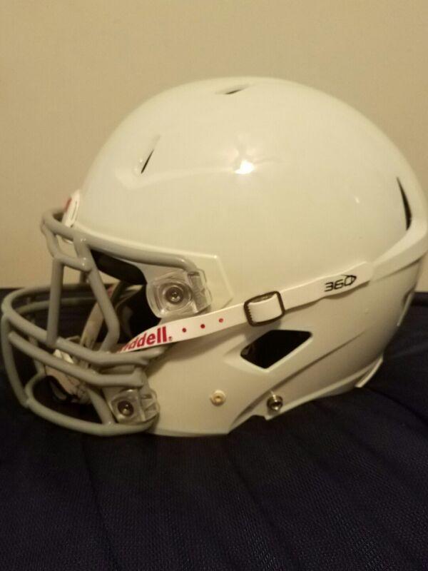360 youth white x-large white Riddell helment