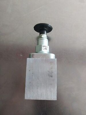 Piston Relief Valve Sun Hydraulics Pilot Operated Balanced 25 Gpm Capacity