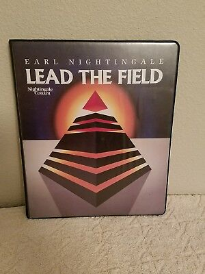 EARL NIGHTINGALE LEAD THE FIELD AUDIO CASSETTE TAPE SELF HELP SERIES for sale  Stockton