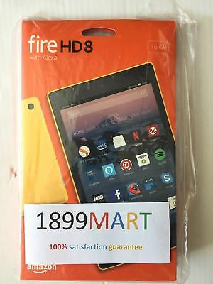 Brand New Amazon Kindle Fire Hd 8 Tablet 16 Gb W Alexa 7Th Gen 2017 Yellow