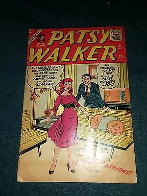 Patsy Walker #81 (Feb 1959, Marvel) gd/vg jessica jones sister hellcat tv show