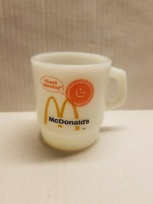McDonalds Good Morning Sunshine Coffee Mug Cup, NEW OLD STOCK