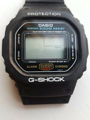 Casio G SHOCK Original DW5600 691 Module H Japan Owned From New. Vintage