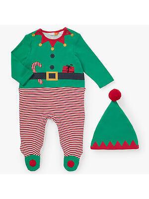 John Lewis Baby Dress Up Elf One piece / Green 0-3 Months Brand New With - John Lewis Baby Kostüm