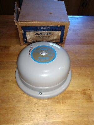 Edwards 340-6fx Adaptabel Bell School Fire Alarm 18vac Edwards Co. 340-6fx