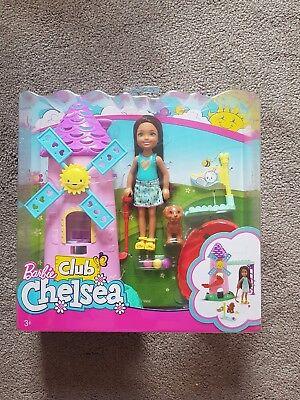 Barbie Club Chelsea Mini Golf Doll and Playset NEW