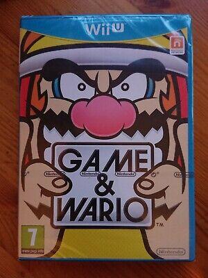 Brand New Sealed Game & Wario (Nintendo Wii U, 2013) PAL
