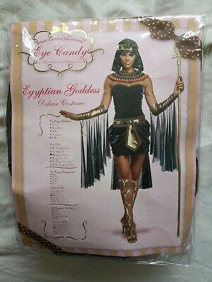 Eye Candy Women's Egyptian Goddess Fancy Dress Size Medium 8-10 New In Pack