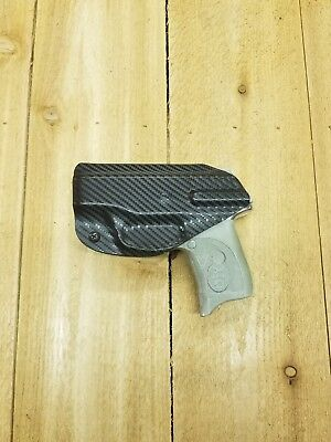 Concealment Holster - Concealment Ruger LC9 LC9s EC9s LC380 IWB Carbon Black Kydex Holster Right