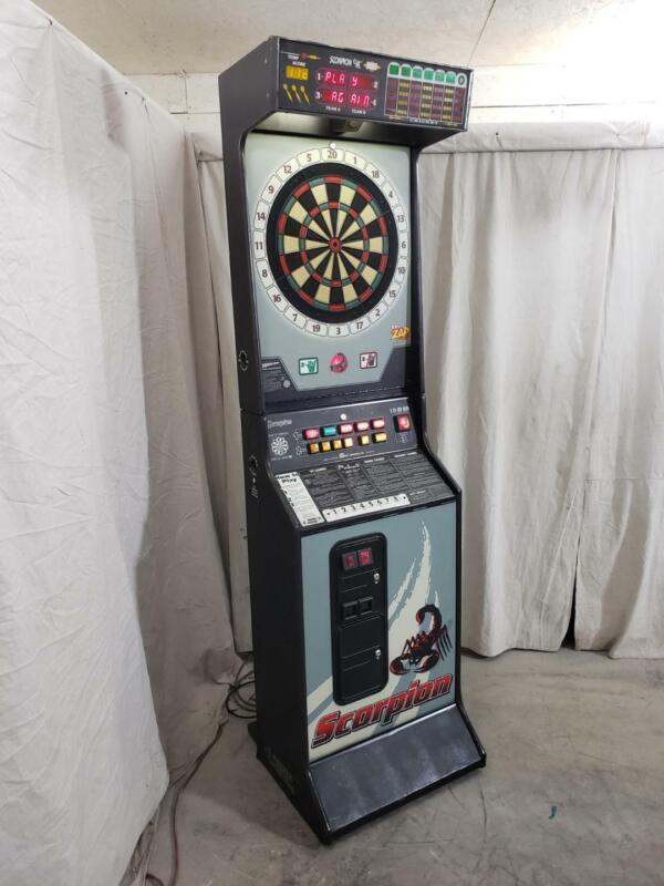 Scorpin by Merit - Commercial Coin Operated Dart Board
