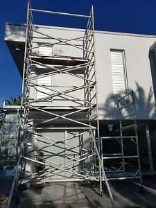 """Near-new """"Aldek"""" mobile aluminium scaffolding"""