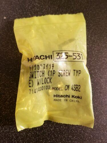 HITACHI 325531 SWITCH  W/LOCK FOR DRY CUT MASONRY SAW