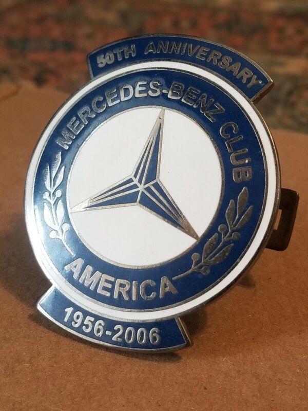 MERCEDES Club of America | 50th Anniversary Grille Emblem Badge Medallion | RARE