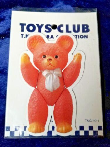 """Bear"" Teruhisa Kitahara TOYS CLUB Tin Toy Museum Magnet  3 3/8"" T Flat Vinyl"