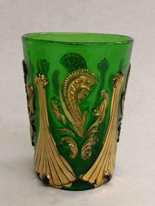 Northwood Feather and Fan Green Tumbler