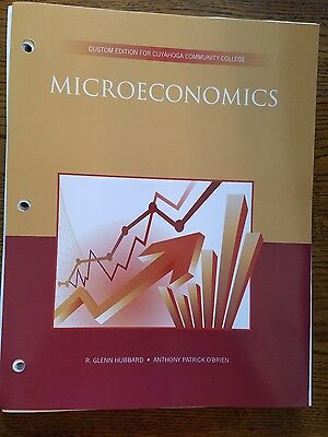 Microeconomics Custom Edition For Cuyahoga Community College