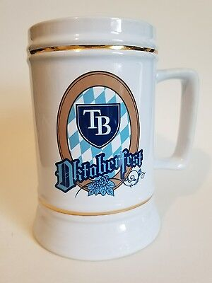 Tampa Bay Rays Beer Stein - Oktoberfest / Collectable, Rare, Hard to Find