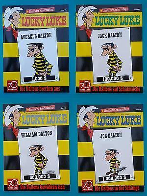 Lucky Luke Comics Limitierte Sonderauflage 4 Bände NEU!!!! 1A absolut TOP