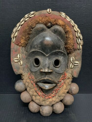 AFRICAN ART DAN MASK