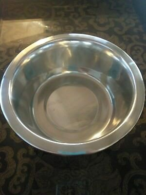 Nice 3 CUP Stainless Steel Metal Dog / Pet Food, Water Dish Bowl, Brand New