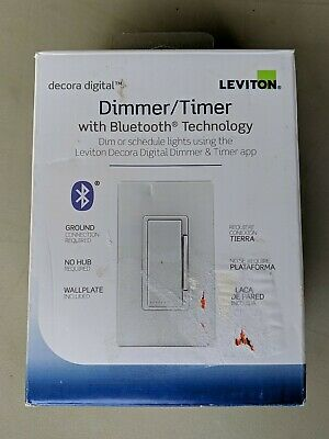 Leviton Decora Digital Dimmer Timer Switch With Bluetooth Technology Ddl06