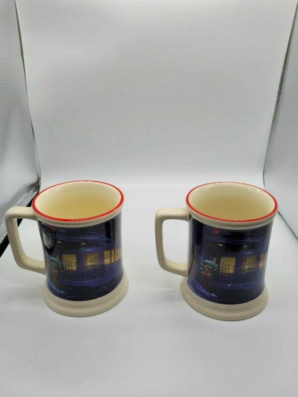 The Polar Express Believe 3D Coffee Mug Cups 2 Set