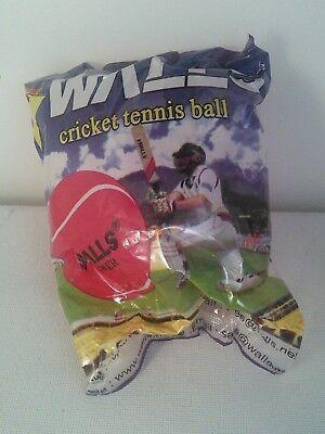 Walls Swastik Red Sports Foundation Heavy Power Cricket / Tennis Ball