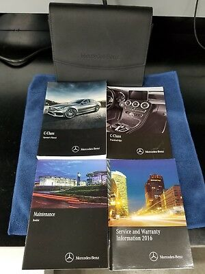 2016 Mercedes-Benz C Class owners manual C300 C450 C63 AMG OEM books set 16 user, used for sale  Fort Worth