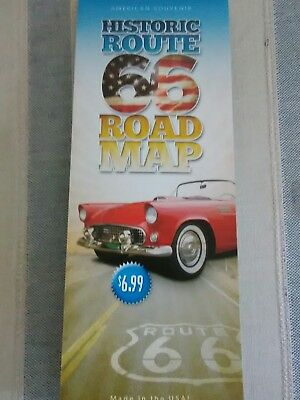 ROUTE 66 LAMINATED  ROAD MAP CHICAGO TO LA 93RD 2019 EDITION! BEST (Best Route 66 Guide)