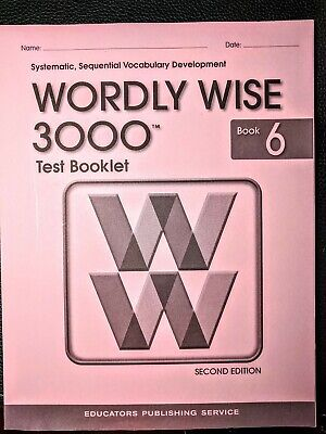 Wordly Wise 3000 Test Booklet Book 5, 2nd Edition (Answers included)
