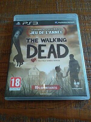 jeu vidéo ps3 walking dead Sony Playstation 3