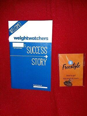 Weight Watchers  Freestyle Charm  Brand New Plus Tracker Handout