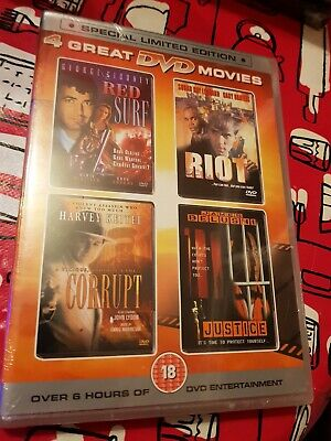 Red Surf, Corrupt, Riot and Justice 4 Great DVD Movies