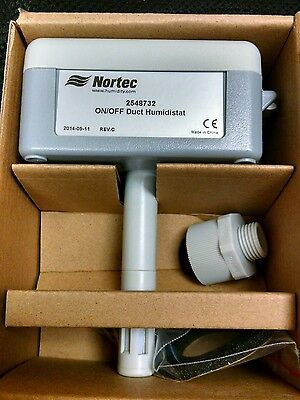 Nortec 254-8732 Duct Mounted Humidistat New In Box